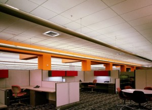 USG Acoustic Ceiling Tile Installation